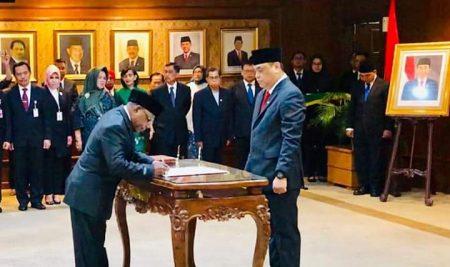 Pelantikan Komisioner Komisi Aparatur Sipil Negara Republik Indonesia